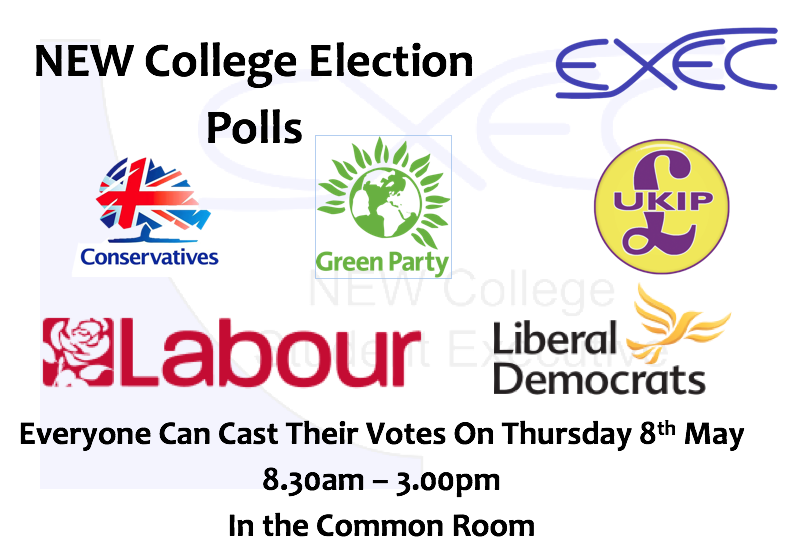 new college election polls