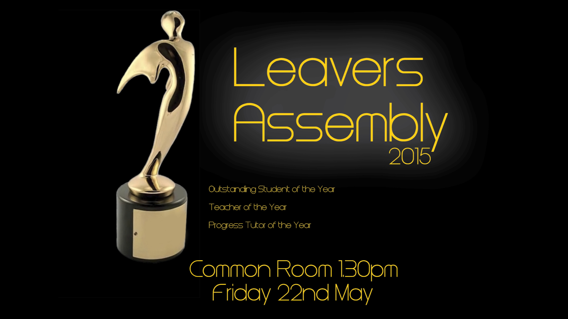 Leavers' Assembly